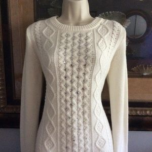 Jcrew rhinestone sweater
